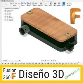 CURSO DISEÑO 3D FUSION 360 BASICO