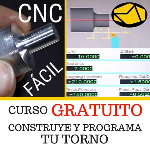 CURSO TORNO GRATUITO MAQUINEROS